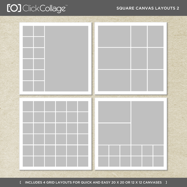Square Canvas Layouts 2