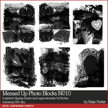 Messed Up Photo Blocks Brushes And Stamps No. 10