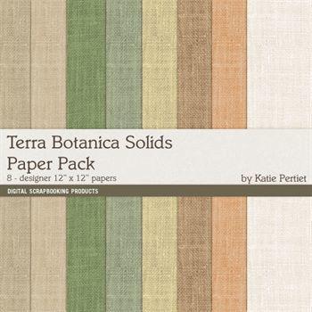 Terra Botanica Solids Paper Pack