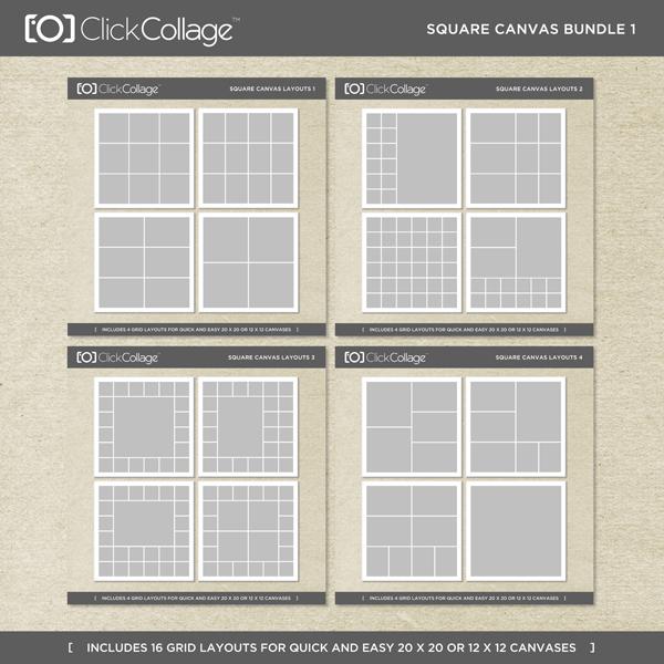 Square Canvas Bundle 1