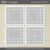 Square Canvas Layouts 3
