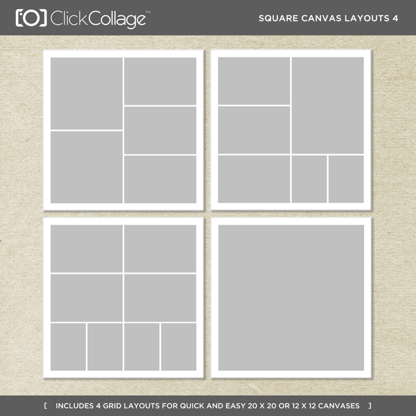 Square Canvas Layouts 4