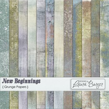 New Beginnings Grunge Papers