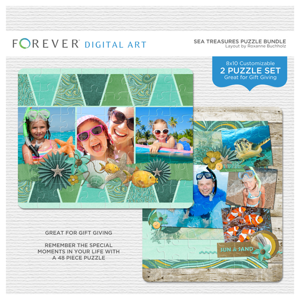 Sea Treasures Puzzle Bundle