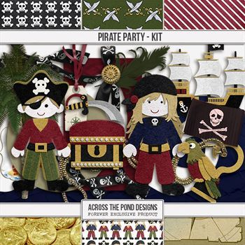 Pirate Party - Page Kit