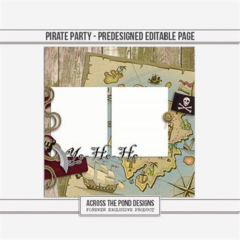 Pirate Party - Predesigned Page