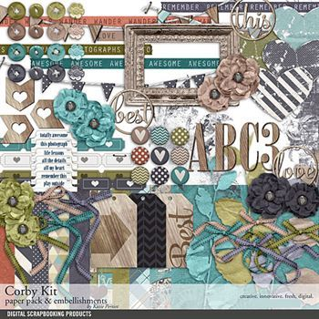 Corby Scrapbooking Kit