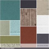 Corby Solids Paper Pack