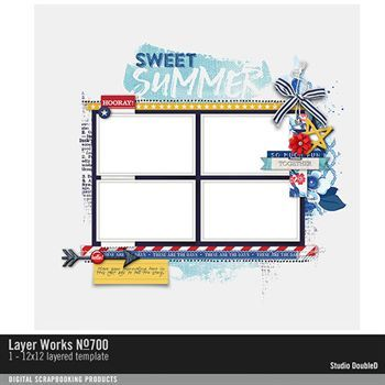 Layer Works No. 700 Layered Template
