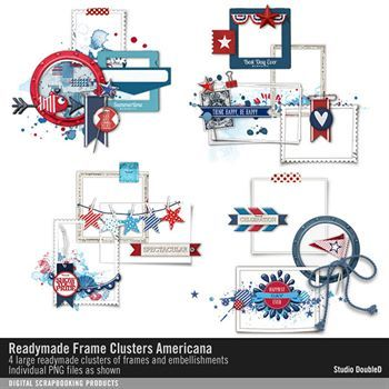 Readymade Frame Clusters Americana