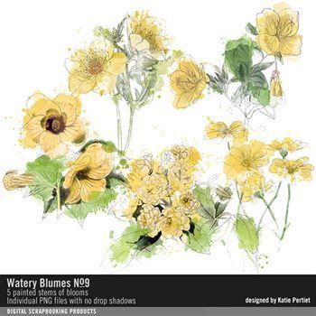 Watery Blumes No. 09
