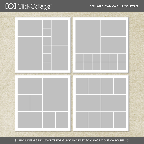 Square Canvas Layouts 5