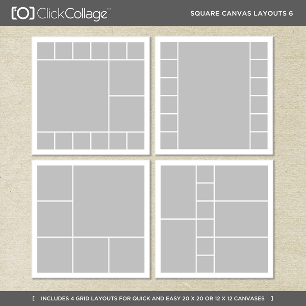 Square Canvas Layouts 6
