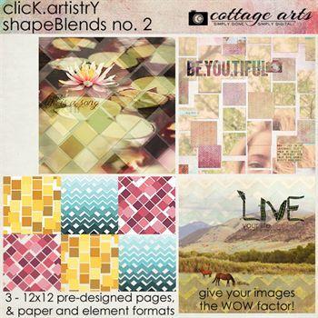 Click.artistry Shapeblends 2