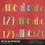 Off On An Adventure Alphabet Set