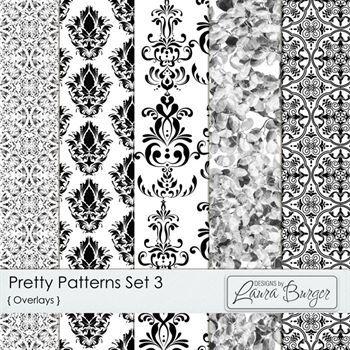 Pretty Patterns Set 3