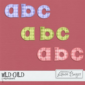 Wild Child Alphabet Sets