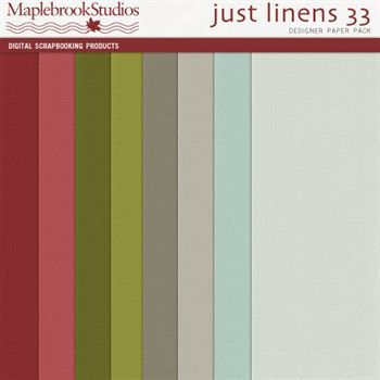 Just Linens Paper Pack No. 33