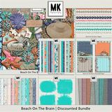 Beach On The Brain - Burlap Mattes