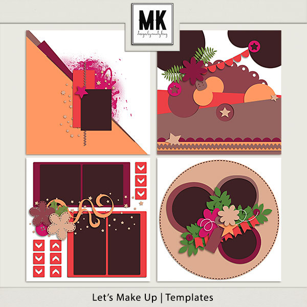 Let's Make Up - Templates