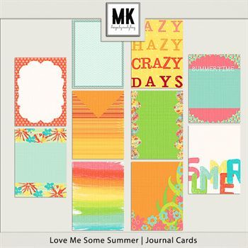 Love Me Some Summer - Journal Cards