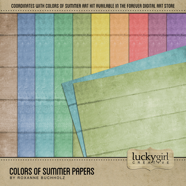 Colors Of Summer Papers
