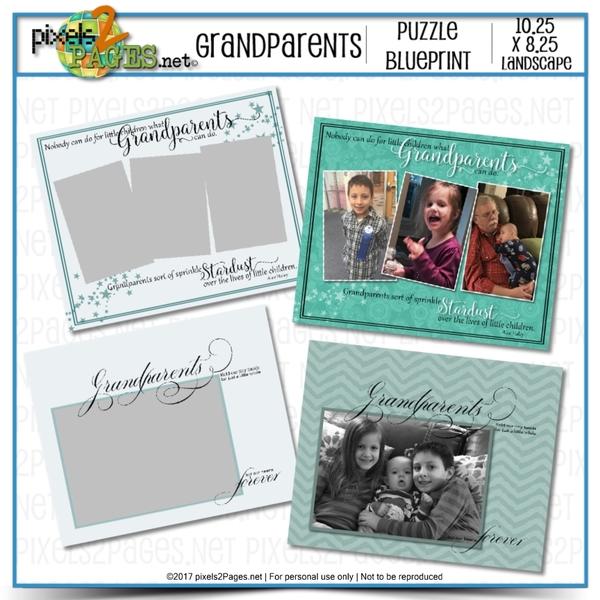 Grandparents Puzzle Blueprint
