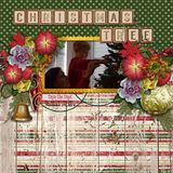 Christmas Whimsies - Tartan Photo Masks