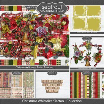 Christmas Whimsies -tartan Discounted Bundle