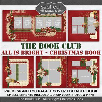 The Book Club - All Is Bright Predesigned Editable Book