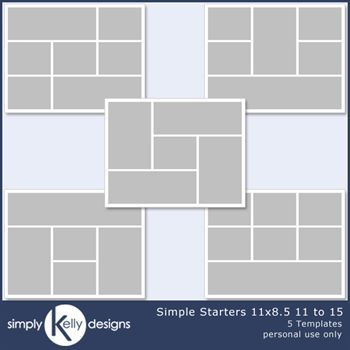 Simple Starters 11x8.5 Templates 11 To 15