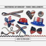 Independence Day Workshop - Themed Embellishments