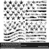 Artsy Americana Overlays No. 02