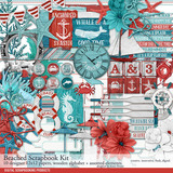 Beached Scrapbook Kit