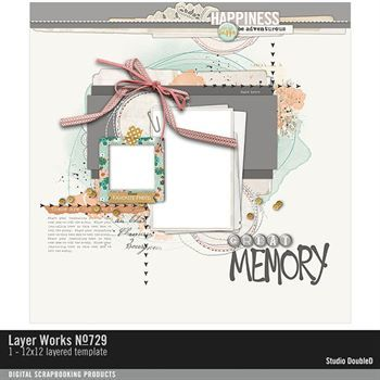 Layer Works No. 729 Layered Template