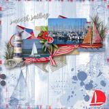 Smooth Sailing - Burlap Mattes