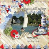 Smooth Sailing - Page Kit