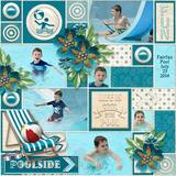 Poolside Page Borders
