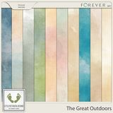 The Great Ourdoors Canvas Watercolor Papers 2