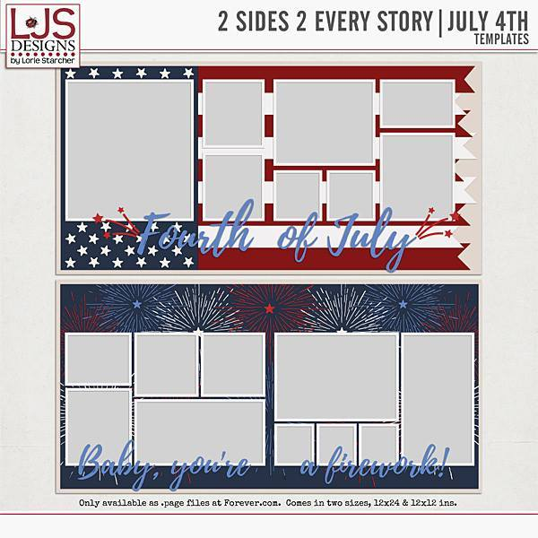 2 Sides 2 Every Story - July 4th