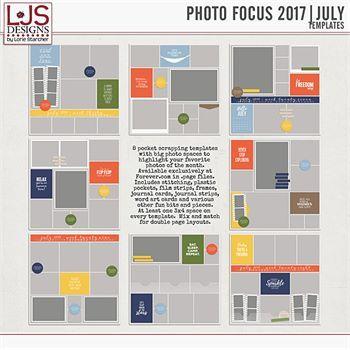 Photo Focus 2017 - July Templates