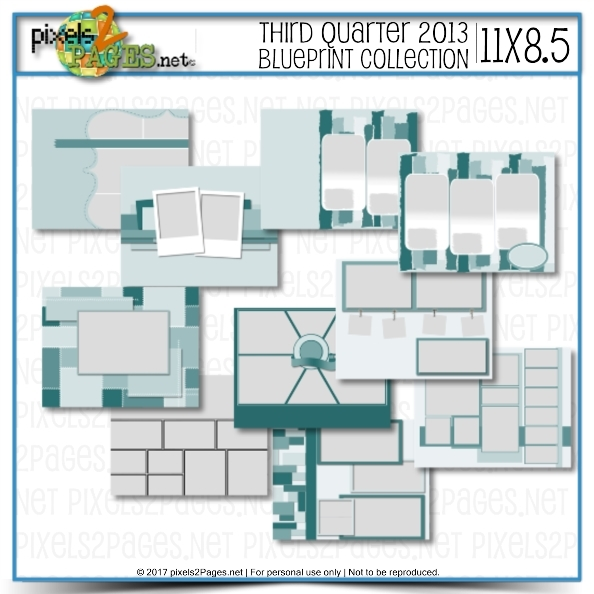 11x8.5 Third Quarter 2013 Blueprint Collection