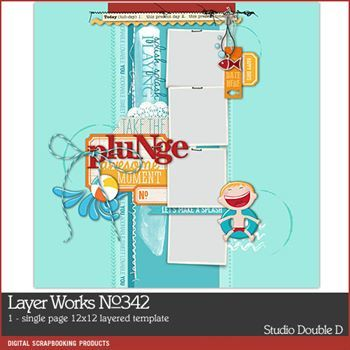 Layer Works No. 342 Layered Template