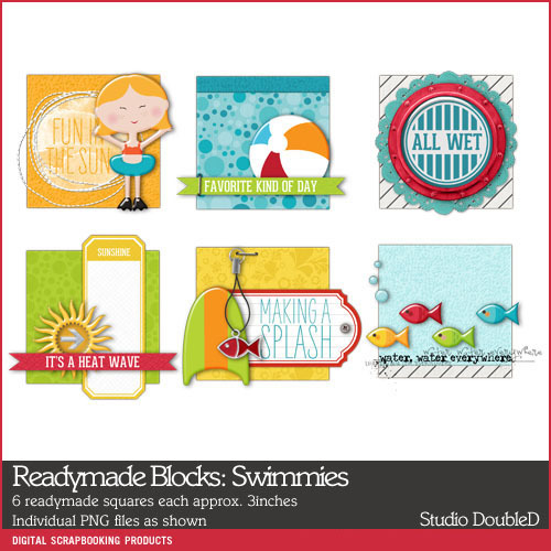 Readymade Blocks Swimmies