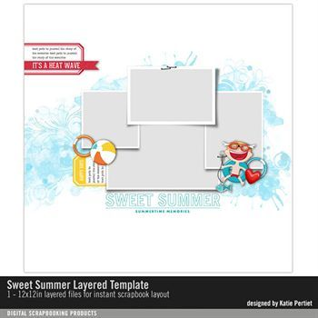 Sweet Summer Layered Template