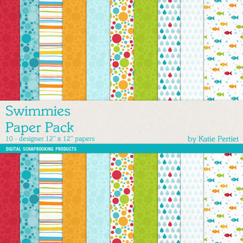 Swimmies Paper Pack