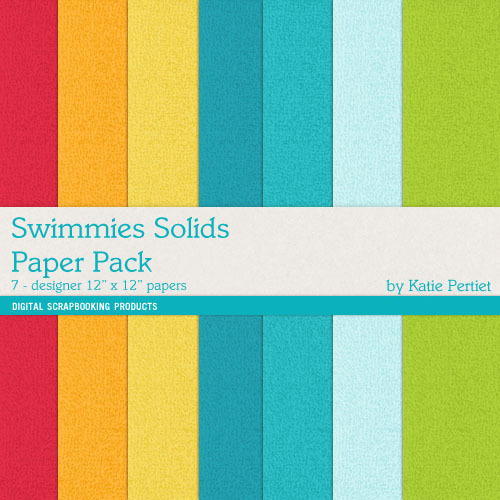 Swimmies Solids Paper Pack