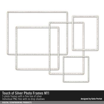 Touch Of Silver Photo Frames No. 01
