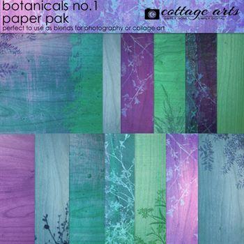 Botanicals 1 Paper Pak