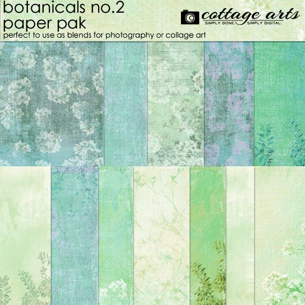 Botanicals 2 Paper Pak